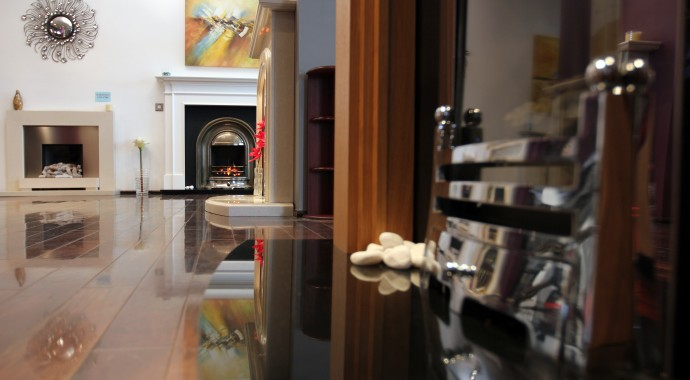 High efficient glass fronted fires in Bradford