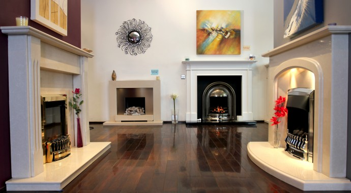 marble fireplaces with cast iron fireplace in fireplace showroom bradford