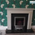 completed fireplace and fire supplied and installed by gas centre in bradford