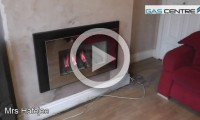 hole in the wall fire supplied and installed by gas centre bradford